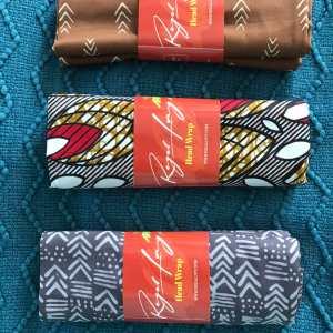 african print head wraps