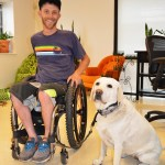 Kirk and Bella 1003 - Service Dogs in Action