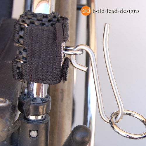 Wheelchair Hook (for attaching your leash)