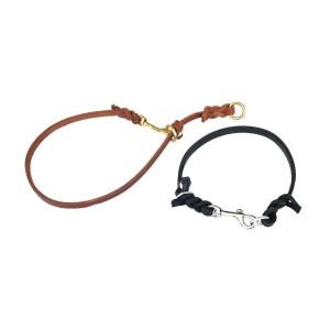 Leather Training Collar (snap on slip-collar)
