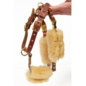 CCH square - Sheepskin Wraps - Harness Strap Cover Kit