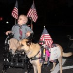 hembree juno and lucas as politicians - Service Dogs in Action