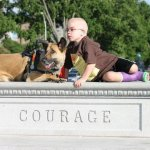 juno and lucas courage - Service Dogs in Action
