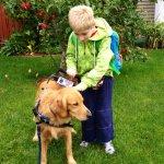 parker and carlos villavicencio - Service Dogs in Action