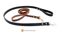 Heavy Duty Leather Dog Leash for Monster Dogs
