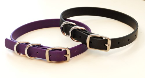 BLD's Double D-ring Brahma Dog Collar (vegan & waterproof)