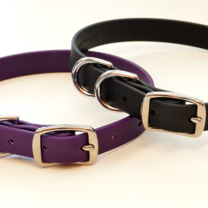 DD Brahma 3553 - BLD's Double D-ring Brahma Dog Collar (vegan & waterproof)