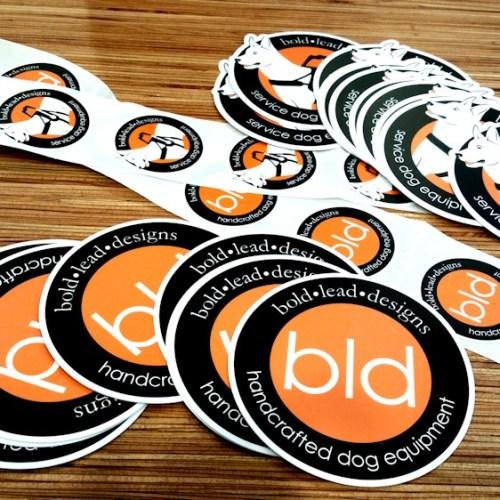 BLD Stickers
