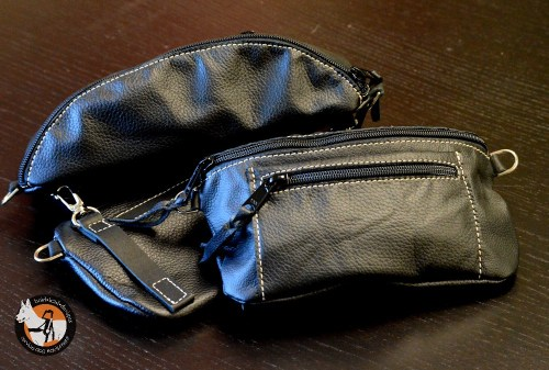 Leather Accessory Pouch