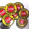 "Need Space Buttons and Stickers 212441 - STOP ""I Need Space"" button or sticker"