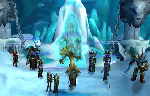 Who doesn't like remembering killing the Lich King? Thank you, DotH!