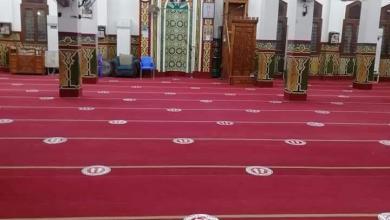 Photo of الأوقاف : وضع علامات التباعد فى جميع المساجد