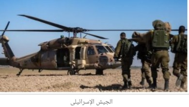 Photo of الجيش الإسرائيلى ينشر مدفعية على الحدود مع لبنان