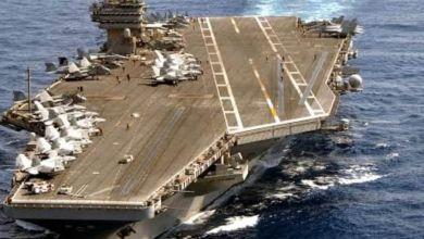 Photo of حاملة الطائرات النووية الأمريكية تصل البحر المتوسط لإجراء تدريبات مع اليونان.
