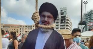 Photo of لبنان ترفض حزب الله وترفع المشانق لـ حسن نصر الله .. فيديو ..