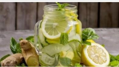 """Photo of إليك 6 مشروبات طبيعية """"ديتوكس"""" لتحسين الهضم"""