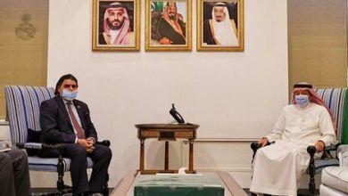 Photo of السعودية : نائب وزير الخارجية وليد الخريجي يجتمع بسفير باكستان