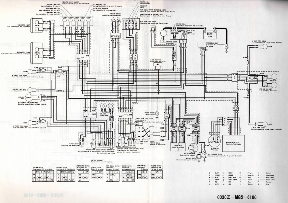 medium resolution of cb900f wiring diagram