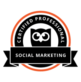 hootsuite certified professional social media marketing