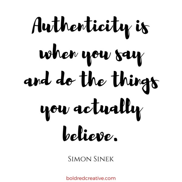 Authenticity by Simon Sinek