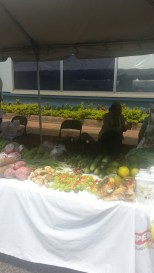 Vendors from throughout the Country selling local grown produce