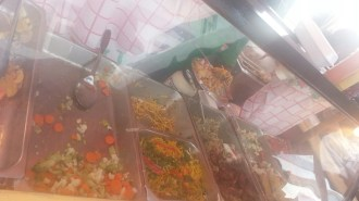 Vendors from throughout the Country selling local cuisine
