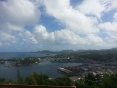 Castries Lookout point