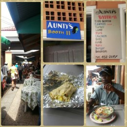 There are yummy eateries tucked away hidden in the market. You can find them if you keep your eyes open.