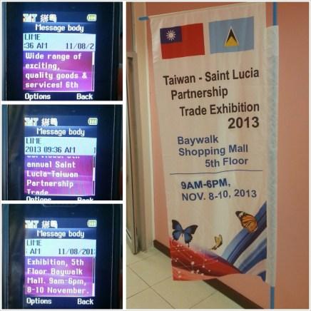 Taiwan-Saint Lucia Trade Show