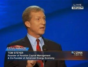 Tom Steyer Leftist Hedgefund Billionaire (younger brother of Jim Steyer)