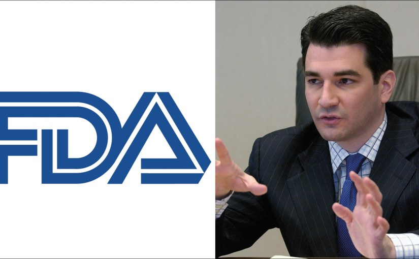 """""""Three Drops Under Your Tongue and You're Ready To Go…""""  Why I Supported Scott Gottlieb For FDA Head…"""