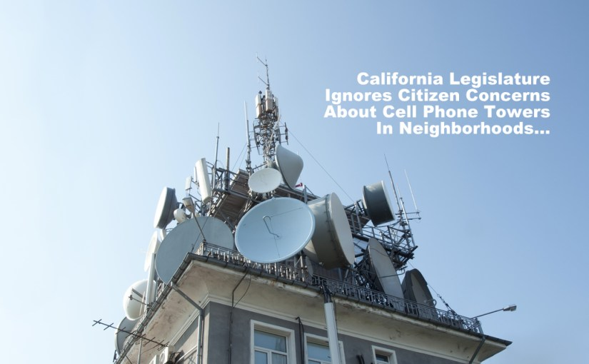 Californians – Want Cellular Antennas Right Outside Your Bedroom Window?