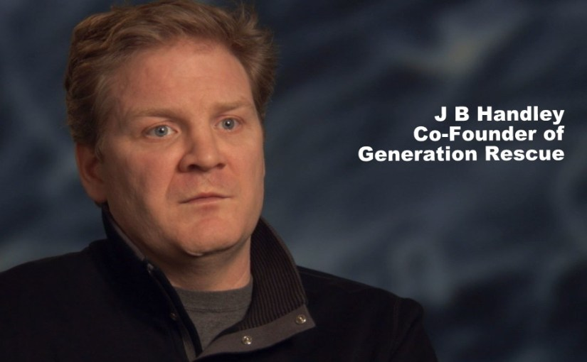 J.B. Handley, Founder of Generation Rescue, Kicked Off MEDIUM…