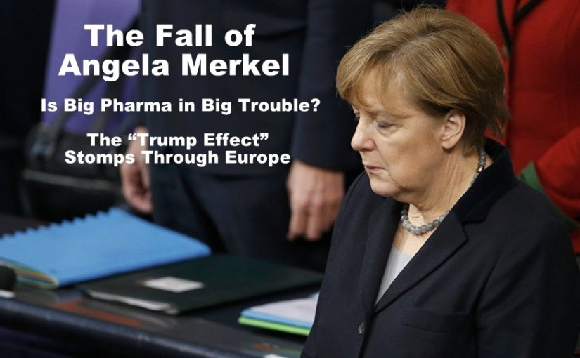 The Fall and Fall of Angela Merkel…