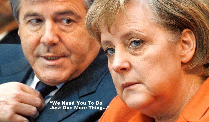 """""""Big Pharma's"""" Merkel And Her Final Betrayal – """"The End"""" of Germany and Europe?…"""