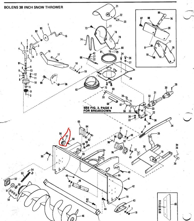 Bolens Parts :: Bolens Snowblower Parts :: Bolens Snow