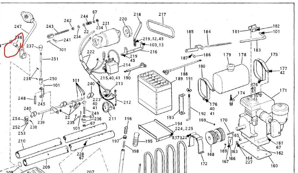 Bolens Parts :: 1185582 Bolens Tubeframe Clutch Petal