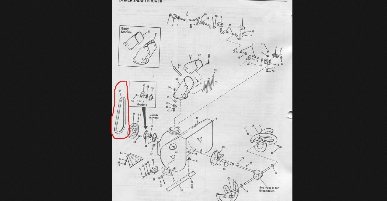 hight resolution of bolens snowblower wiring diagram wiring library 4220 snapper snow blower parts diagram bolens snowblower belt 1739944