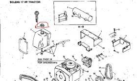 Bolens Parts :: 1725868 Bolens Gas Fuel Cap Fits