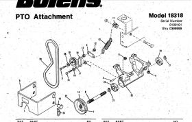 Bolens Parts :: Bolens PTO kit Drive belt 1741578 174-1578