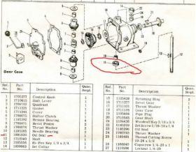 Bolens Parts :: 1891820 Bolens Transmission oil seal 189