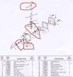 Bolens Parts :: Bolens Mower Deck & Snow Blower Gear box