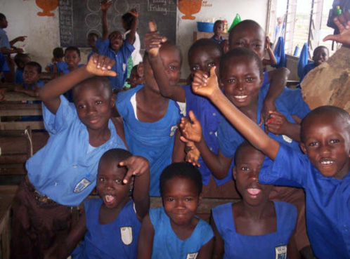 Accra School for the Deaf in Ghana