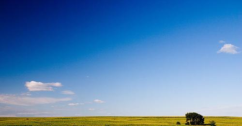 Nebraska Land and Sky