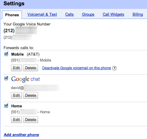 Keeping a Secondary Number with Google Voice   David Boles, Blogs