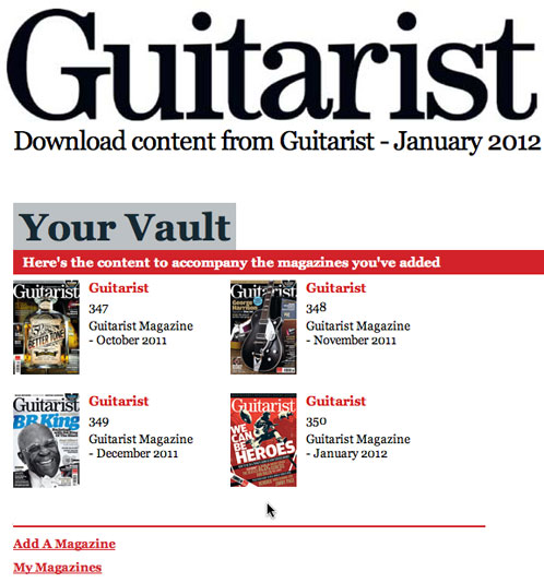 Guitarist Magazine for iPad Review | David Boles, Blogs