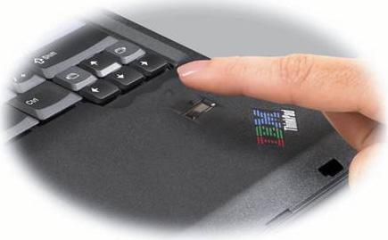 IBM ThinkPad T34p 2668-Q2U Fingerprint Reader