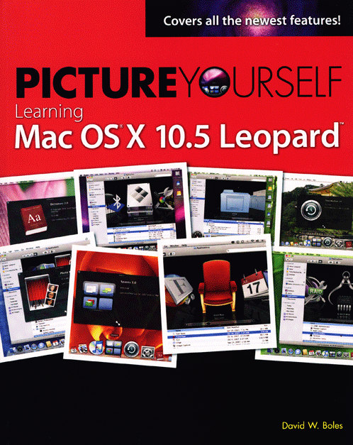 Picture Yourself Learning Mac OS X 10.5 Leopard Book Cover
