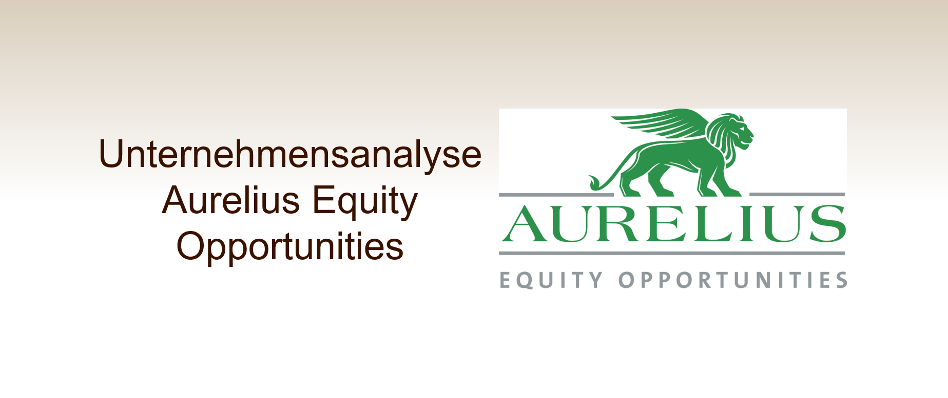 Aurelius Equity Opportunities