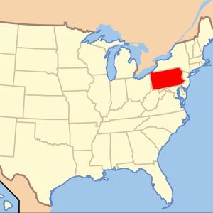 4. Found in Pennsylvania